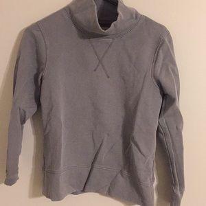 Madewell funnel neck sweatshirt